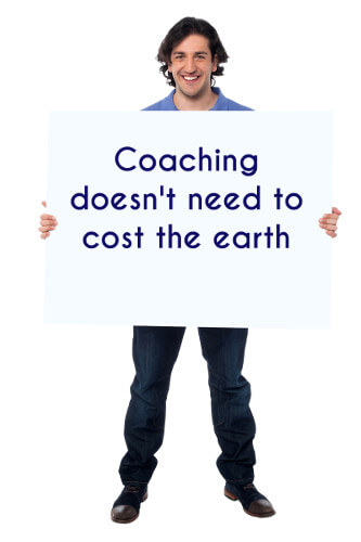 Coaching doesn't need to cost the earth